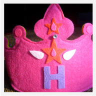 Personalized kids Crown, Crown with Initial