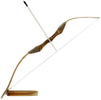 Wooden Bow Set