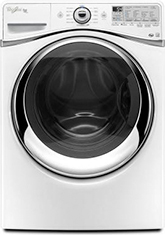Whirlpool WFW97HEXW Whirlpool Energy Star Duet 5.0 Cu. Ft. Front Load Washer - White