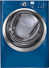 Electrolux Iq-touch 8.0 Cu. Ft. Electric Steam Capacity Dryer - Mediterranean Blue