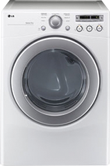 LG 71 Cu Ft 7 Cycle Extra Large Capacity Electric Dryer White