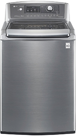 LG 47 Cu Ft 14-Cycle Ultra-Large Capacity High-Efficiency Top-Loading Washer - Graphite Steel