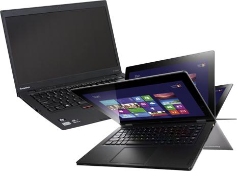 Lenovo Ideapad Yoga and Thinkpad X1 Carbon Touch