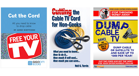 Books on cord cutting