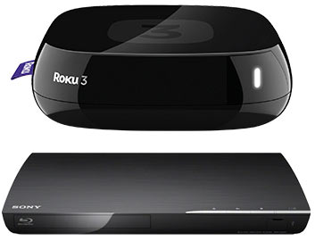 Roku 3 and Connected Blu-ray Player