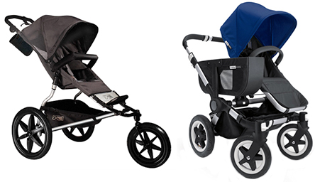 Four Wheels for Two Kids or Three Wheels for Joggers