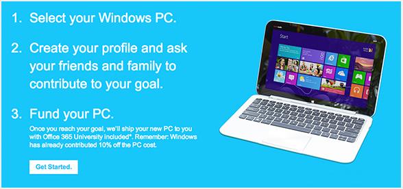 Microsoft's Chip In Program