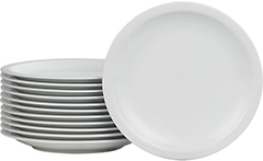 Set of 12 Boxed 10.5-inch Dinner Plates