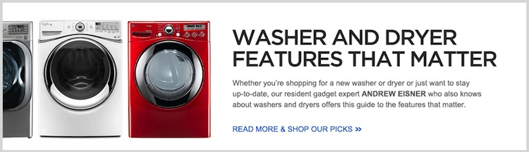 Washer & Dryer Features That Matter