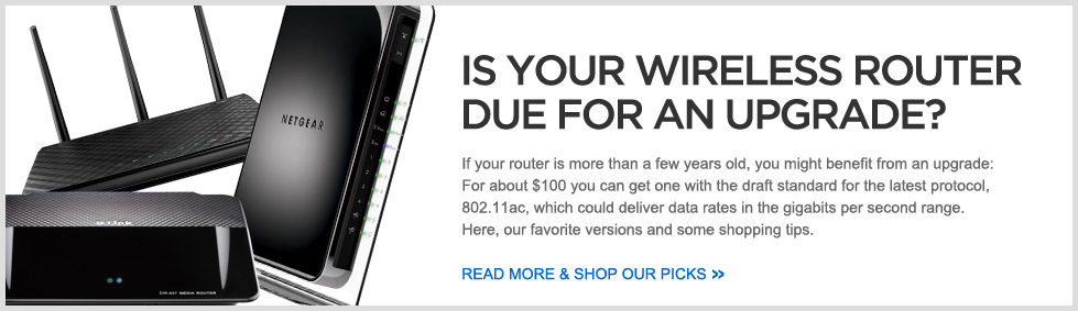 Is Your Wireless Router Due for an Upgrade?