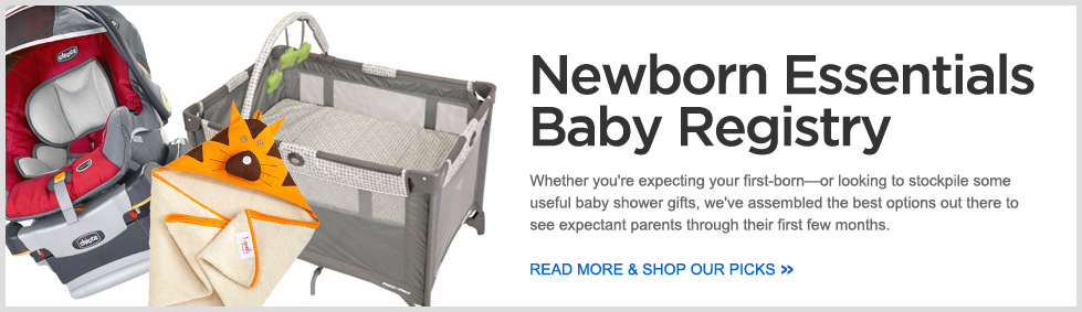 Newborn Essentials Baby Registry