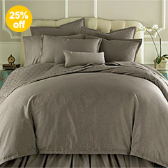 400TC WrinkleGuard Quilted Coverlet & More