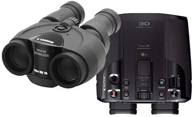 High Tech Binoculars