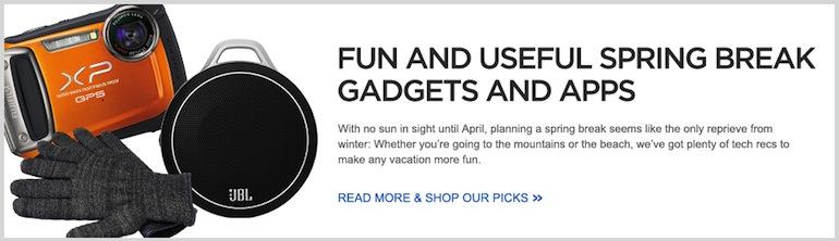 Fun & Useful Spring Break Gadgets & Apps